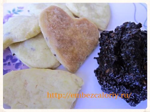 Печенье на сметане и маргарине рецепт без яиц