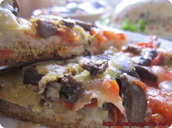 Пицца с грибами. Фирменный рецепт