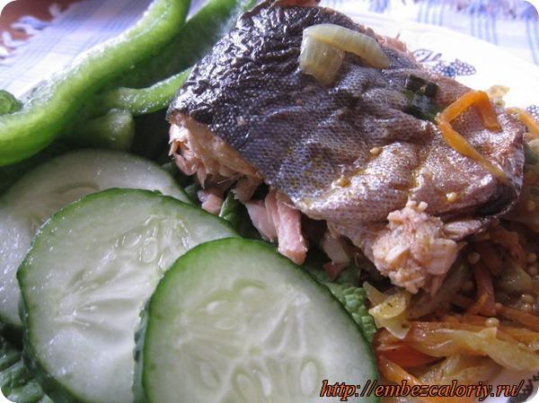 Рыба фаршированная и запеченная в фольге