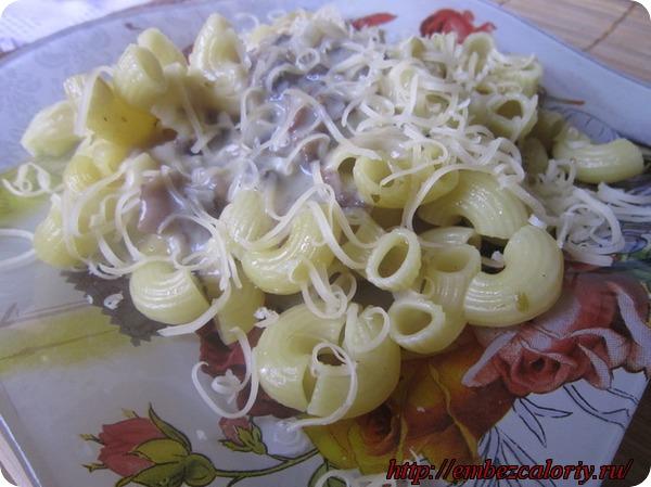 Паста с грибным соусом