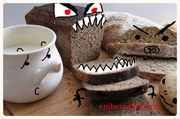 Дрожжевой хлеб - оружие массового поражения