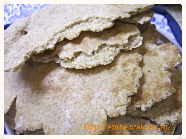 Хлебные лепёшки на скорую руку готовы!