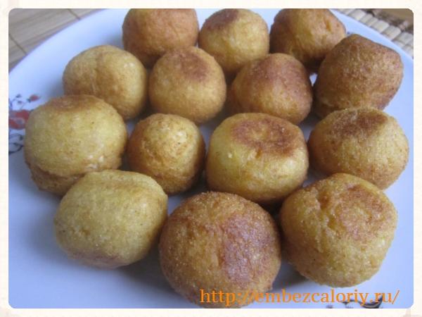Пончики - помпончики из творога