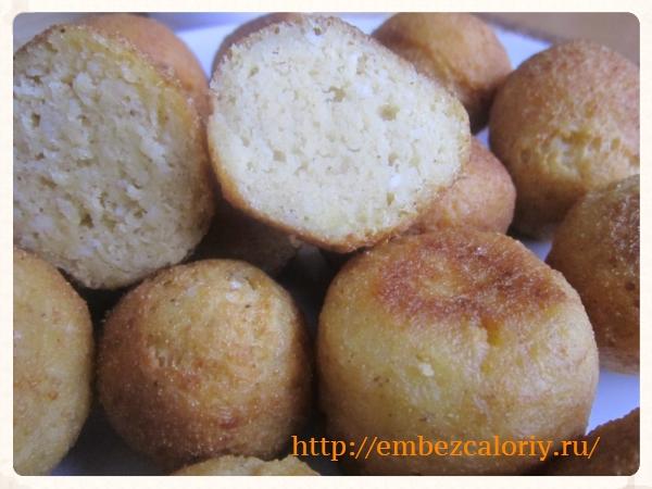 пончики – помпончики из творога