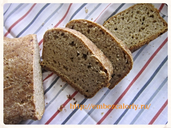 Ячменный хлеб готов!