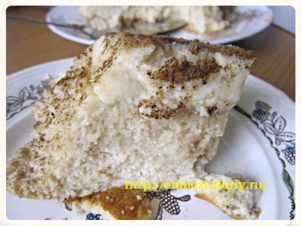 Лимонный кекс - пудинг