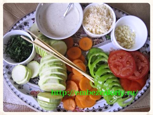 подготовка ингредиентов