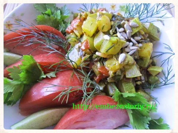 Обычное и вкусное блюдо из кабачков