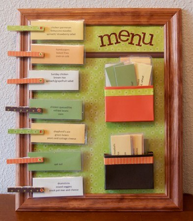 Составлю меню