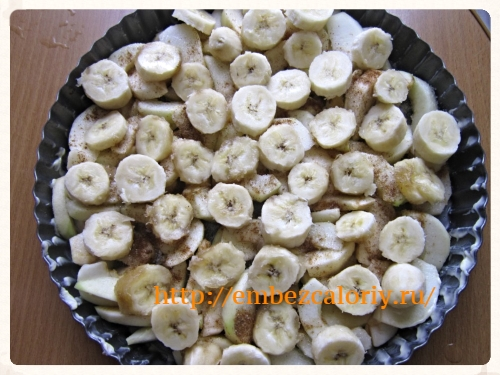 кружочки бананов