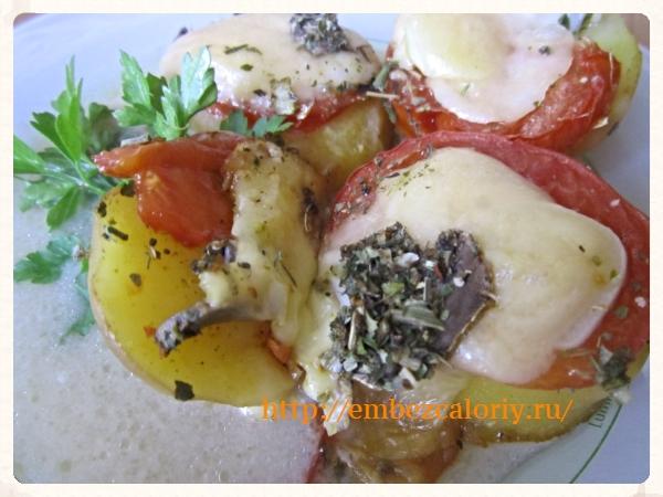Аппетитный и полезный картофель
