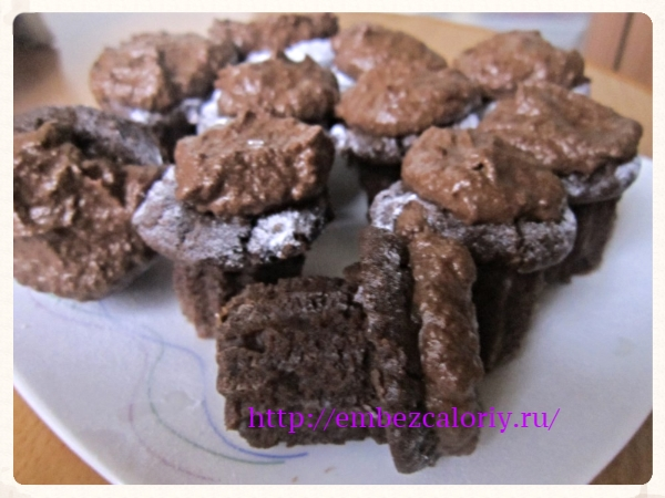Брауни для шокоманов или супер – шоколадные пирожные