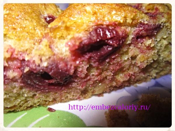 Десертный пирог «Вишенка»