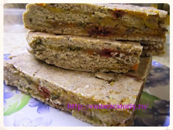 хлеб со жмыхом