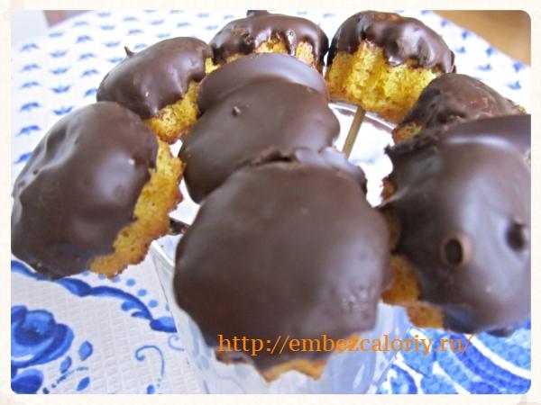 Шоколадно – мандариновое лакомство