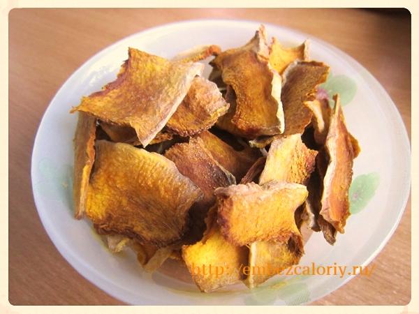 Конфетки из тыквы