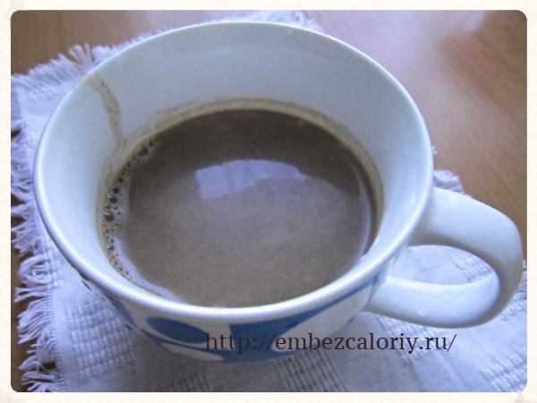 Утренний напиток для гурманов