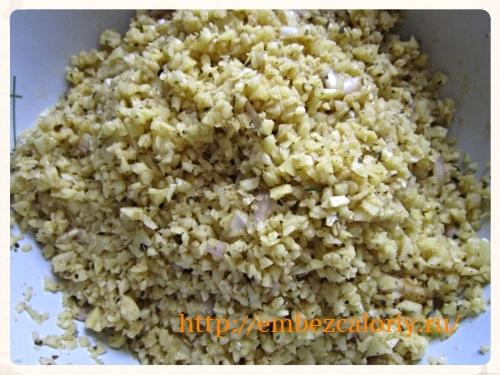 картофельный фарш