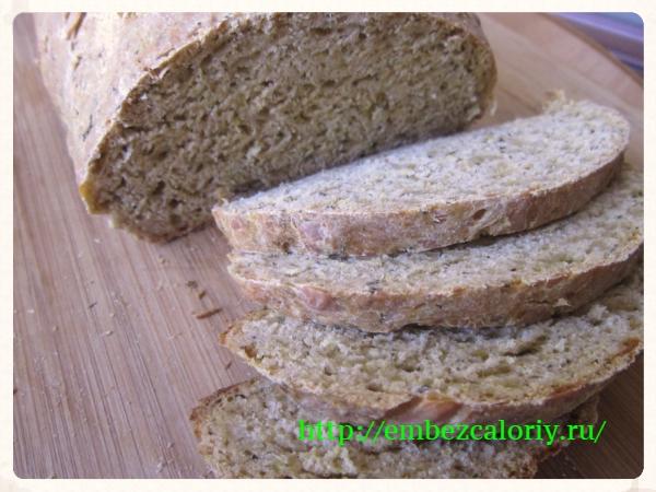 Бездрожжевой итальянский хлеб