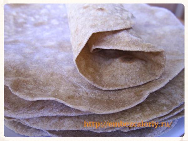 Лаваш – домашний хлеб. Быстрый рецепт
