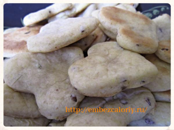 Быстрое печенье без сахара