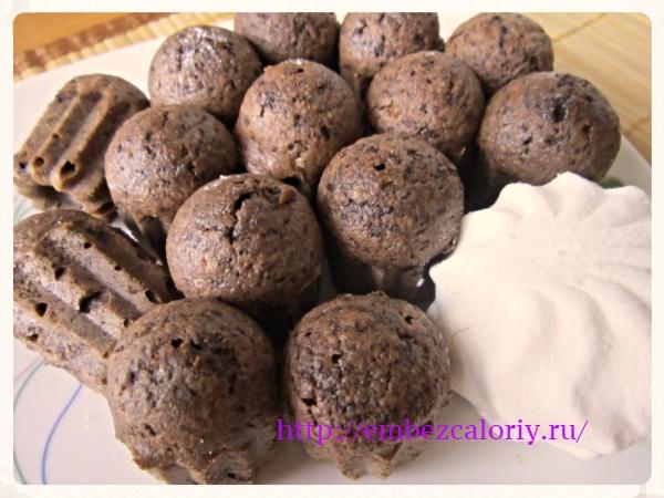 Мини кексы – куличики шоколадные без дрожжей