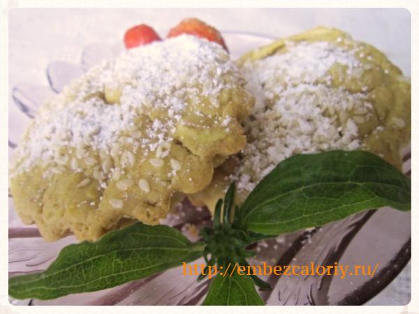 Низкокалорийные кексы из кабачков
