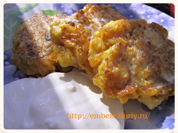 Котлеты морковно – яблочные для завтрака