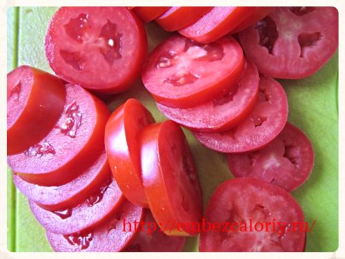 помидоры режем