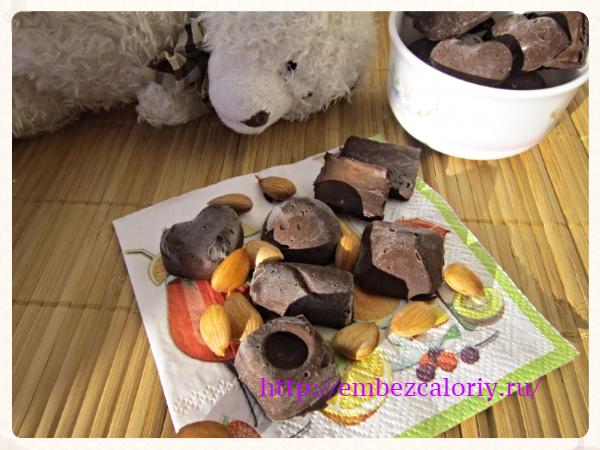 Домашний шоколад натуральный