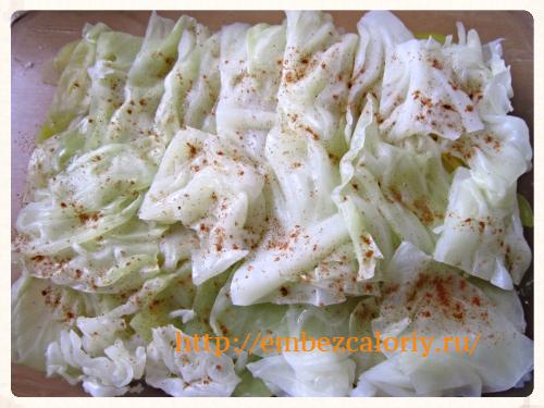 листья капусты