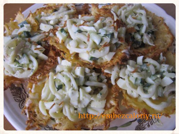Корзиночки из сыра для салатов