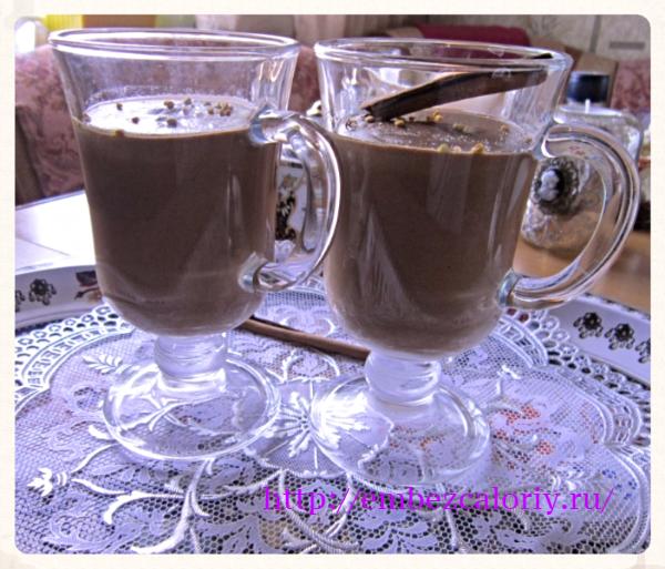 Шоколадный десерт «Чампуррадо»