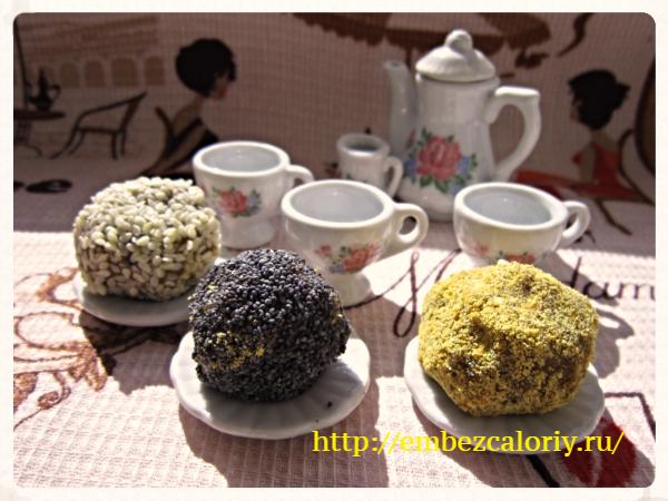 Домашние конфеты (от весеннего авитаминоза)