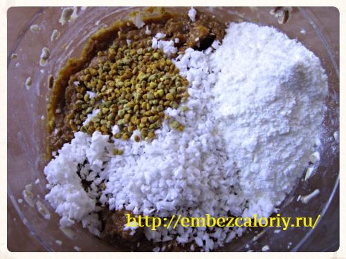 молоко сухое, пыльца, кокосовая стружка, пряности