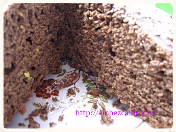 Простой и быстрый шоколадный кекс с маком