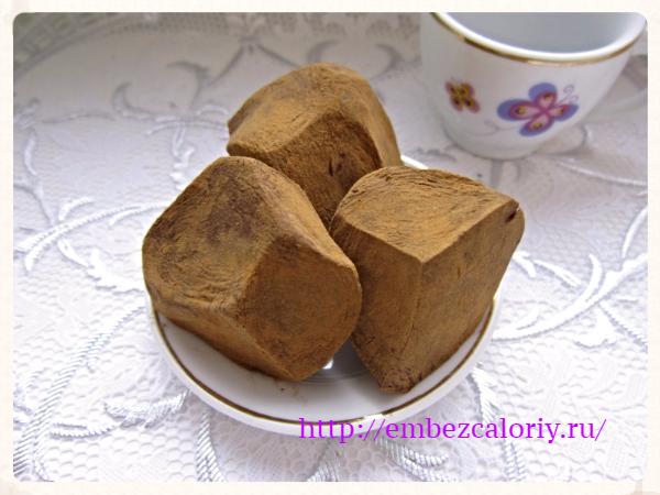 Шоколадные конфеты-трюфели