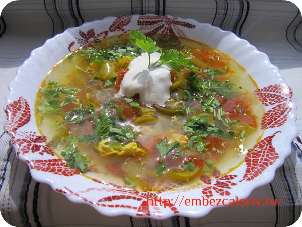 Суп из перца