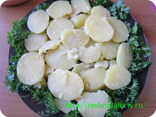 петрушка, картофель