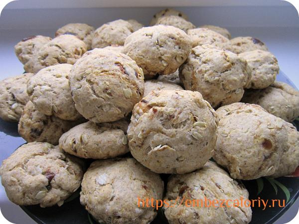 Печенье с хлопьями готово!