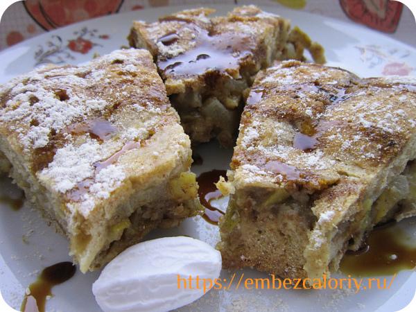 Пирожные с грушами готовы!