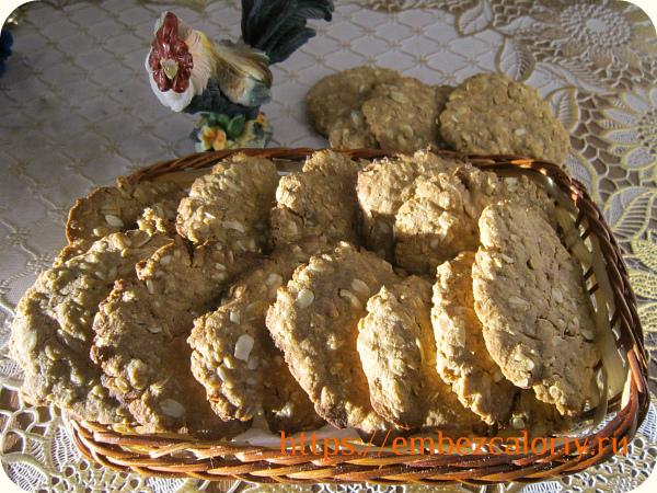 Овсяно – гречневое печенье