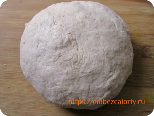 Замешиваем мягкое нежное тесто