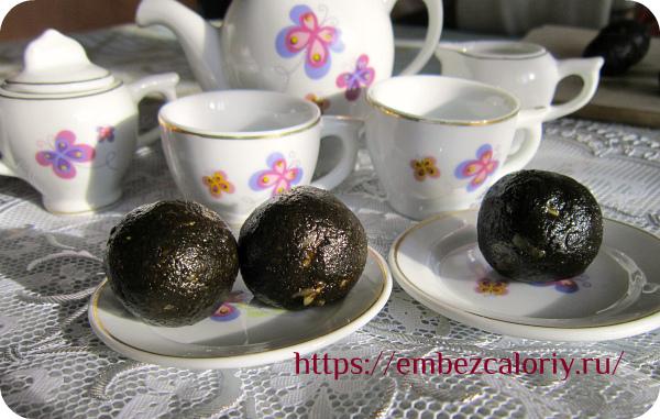 Необычные конфеты из урбеча готовы!