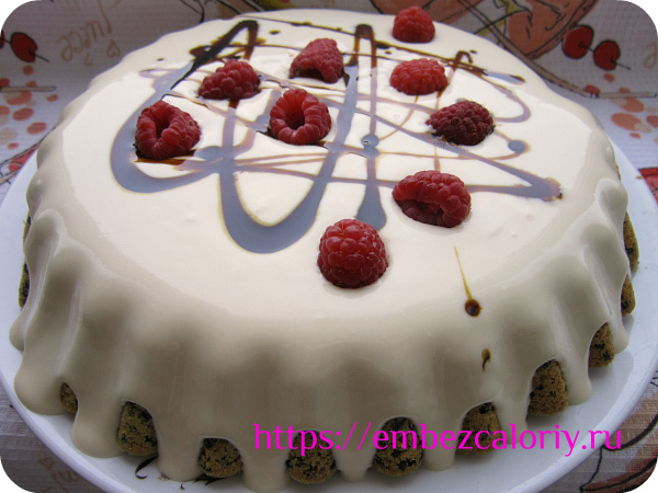 Торт из кунжута