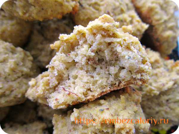 Вкусное, очень мягкое и нежное постное печенье готово!