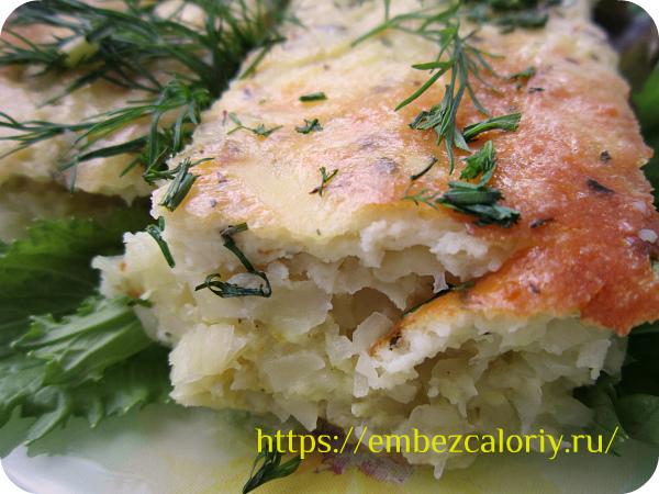 Картофельная запеканка с сыром готова!