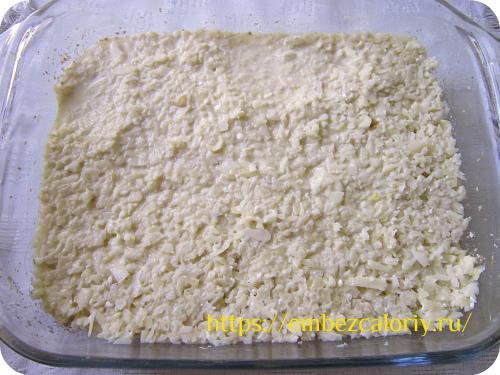 Укладываем картофельную смесь