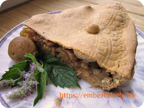 Яблочный пирог «Ранняя осень» готов!