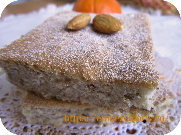 Вкуснейший и нежнейший миндальный бисквит готов!